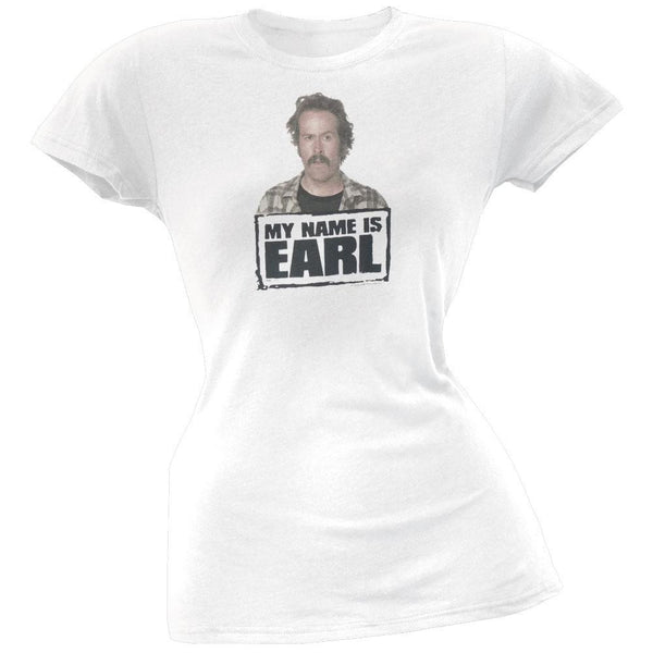 My Name Is Earl - Logo Juniors T-Shirt