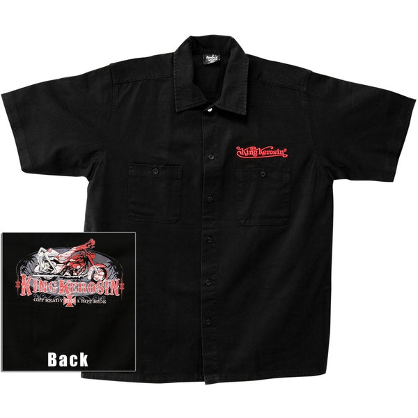 King Kerosin - Hot Ride Work Shirt