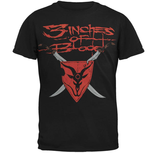 3 Inches Of Blood - Shield T-Shirt
