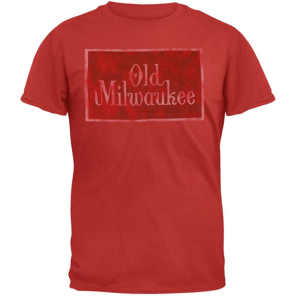 Old Milwaukee - Logo Red T-Shirt