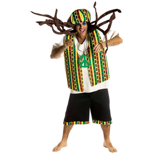 Rasta Mon Foam Outfit One Size Fits All