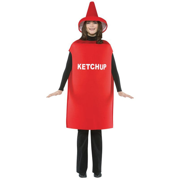 Ketchup Container Adult Costume One Size Fits All