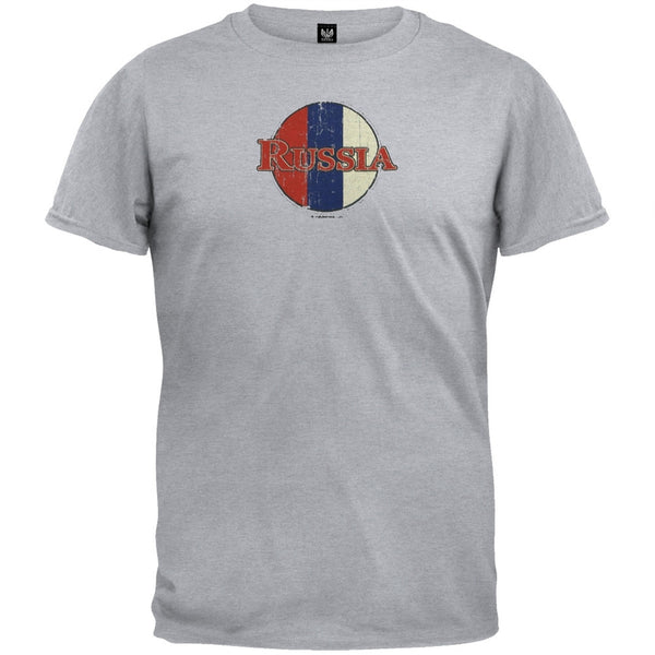 Russian Flag Logo T-Shirt