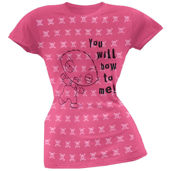 Family Guy - You Will Bow Juniors T-Shirt