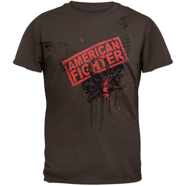 American Fighter - Skull Wings T-Shirt