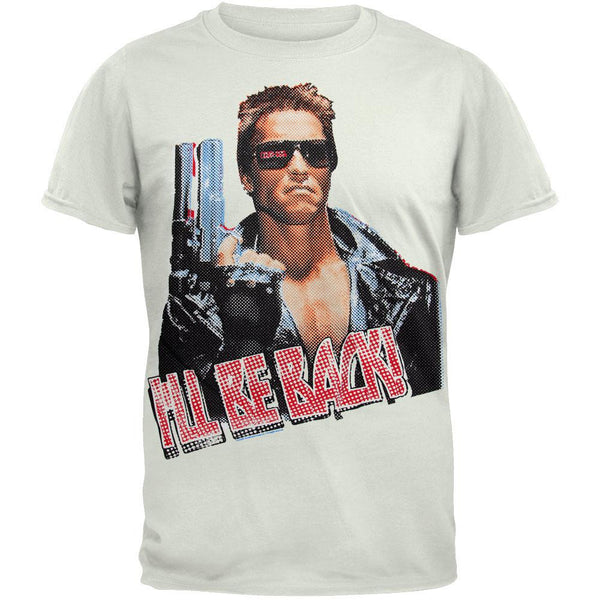 The Terminator - I'll Be Back Soft T-Shirt