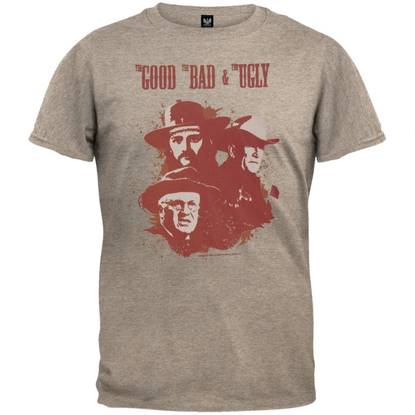 Good Bad & Ugly - 3 Men Logo T-Shirt