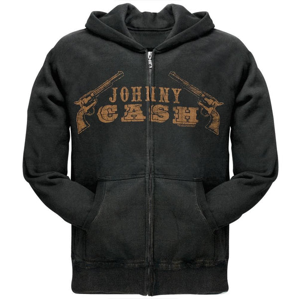 Johnny Cash - Johnny Cash Gun Zip Hoodie
