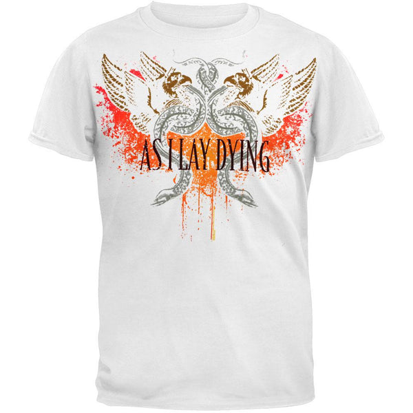 As I Lay Dying - Snakes Soft T-Shirt