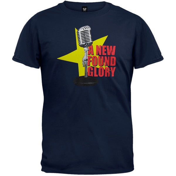 New Found Glory - Microphone T-Shirt