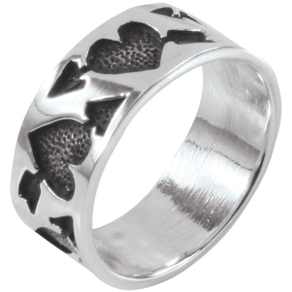 Love Hearts - Silver Ring