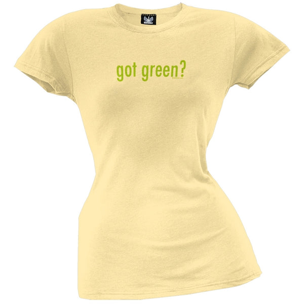 Got Green Organic Juniors T-Shirt