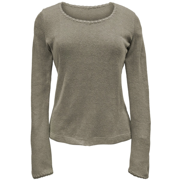 Hemp Natural- Juniors Long Sleeve T-Shirt