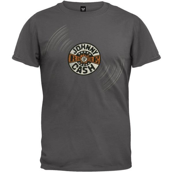 Johnny Cash - Ring of Fire Record T-Shirt