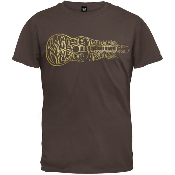 Willie Nelson - Born For Trouble Soft T-Shirt