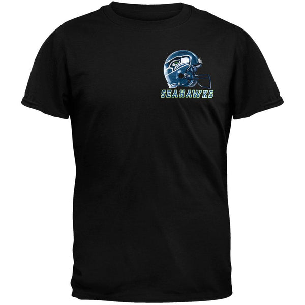 Seattle Seahawks - Sky Helmet T-Shirt