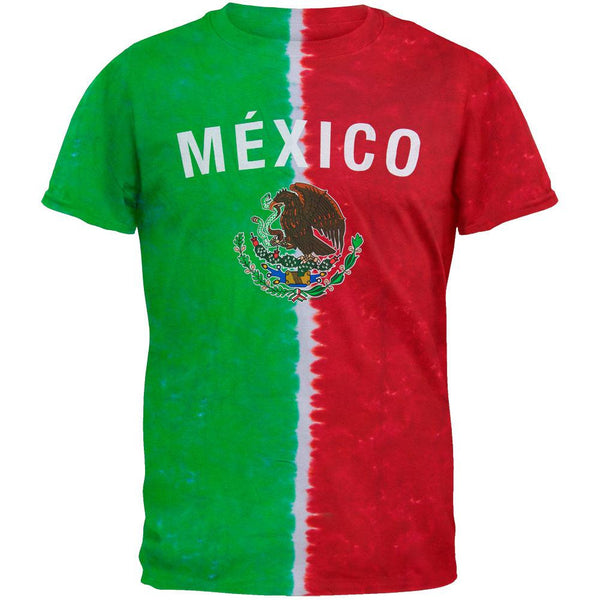 Mexican Flag Tie Dye T-Shirt