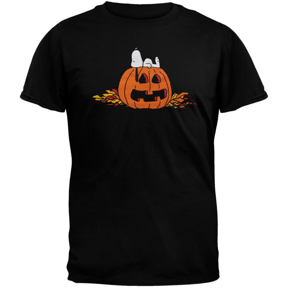 peanuts - halloween snooze t-shirt – oldglory