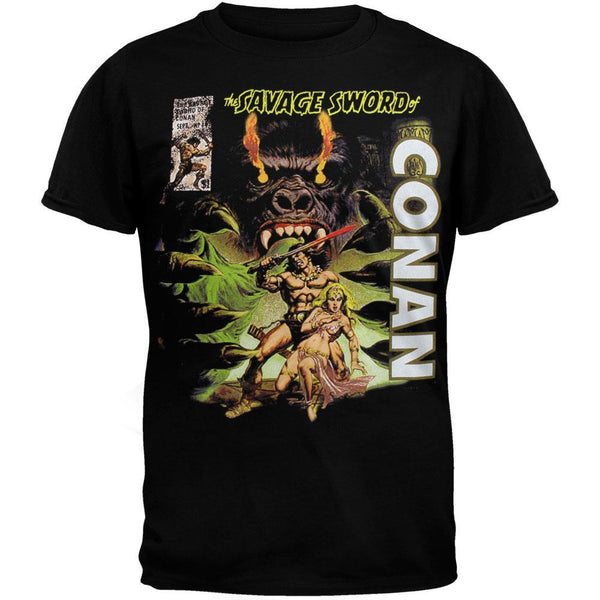 Conan - Savage Sword Soft T-Shirt