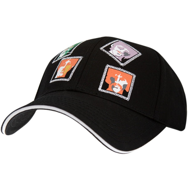 Beatles - Face Squares Adjustable Baseball Cap
