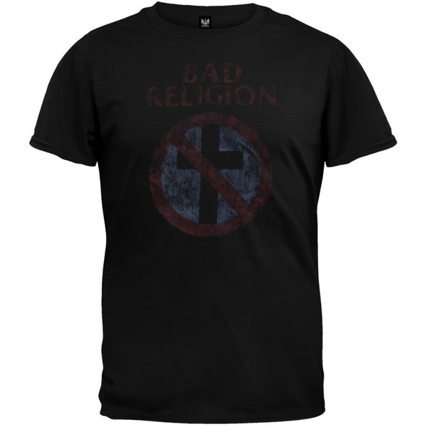 Bad Religion - Distressed Cross Youth T-Shirt