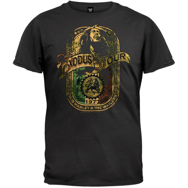 Bob Marley - Exodus Label Soft T-Shirt