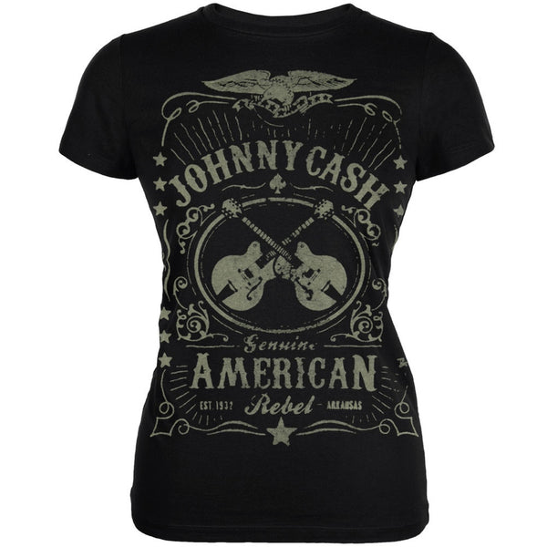 Johnny Cash - Cash Label Ladies T-Shirt