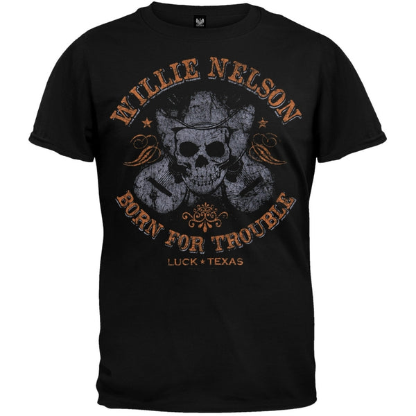 Willie Nelson - Dual Guitars T-Shirt