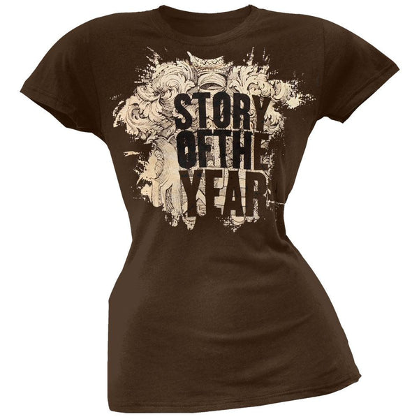 Story Of The Year - Emblem Juniors T-Shirt