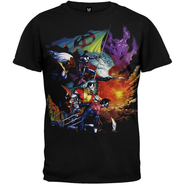 Marvel Heroes - Sunset X T-Shirt