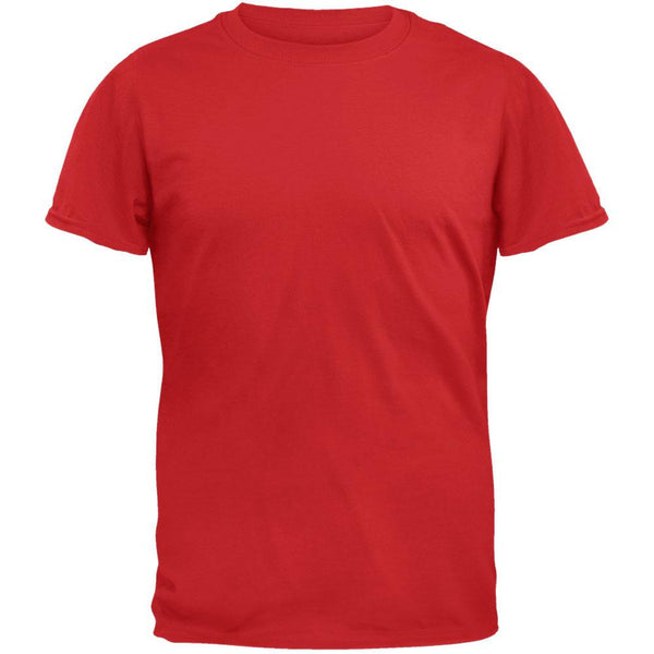 100% Organic Cotton Red T-Shirt