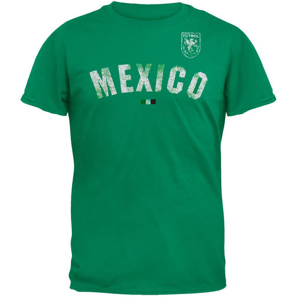 Mexico Flocked Soccer T-Shirt
