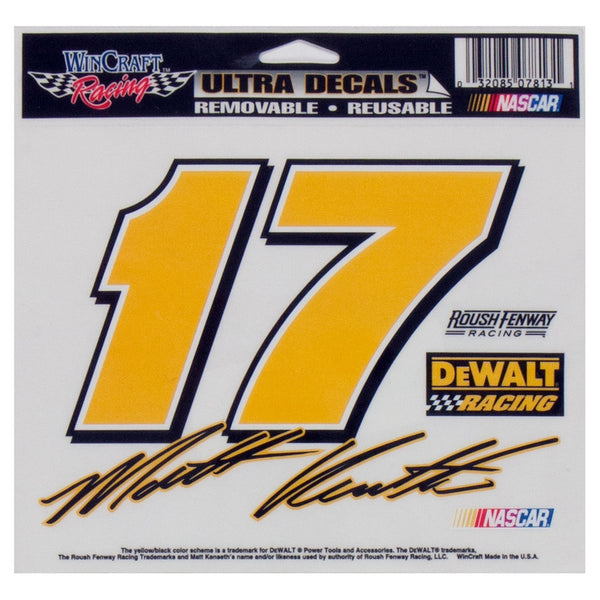 Matt Kenseth - #17 Retro Signature Decal