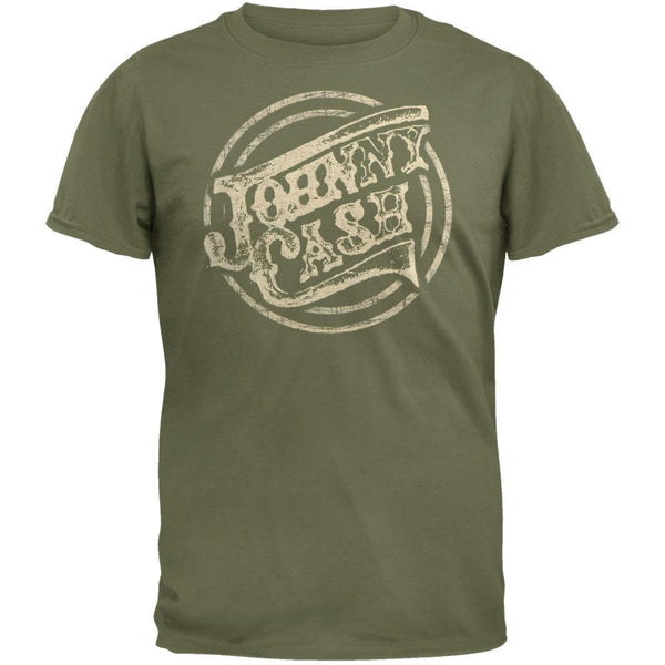 Johnny Cash - Circle Logo Soft T-Shirt