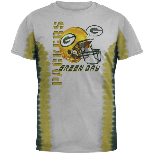 Green Bay Packers - Helmet Tie Dye T-Shirt