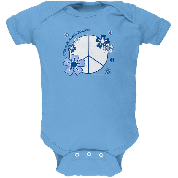 Little Hippie - Peace Peacock Baby One Piece