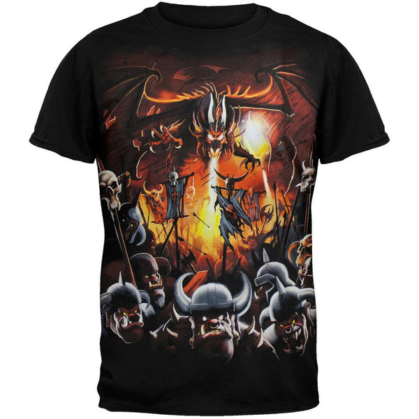 Dragon Vs. Dwarves T-Shirt