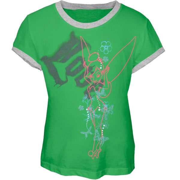 Tinkerbell - Love Girl's Ringer T-Shirt