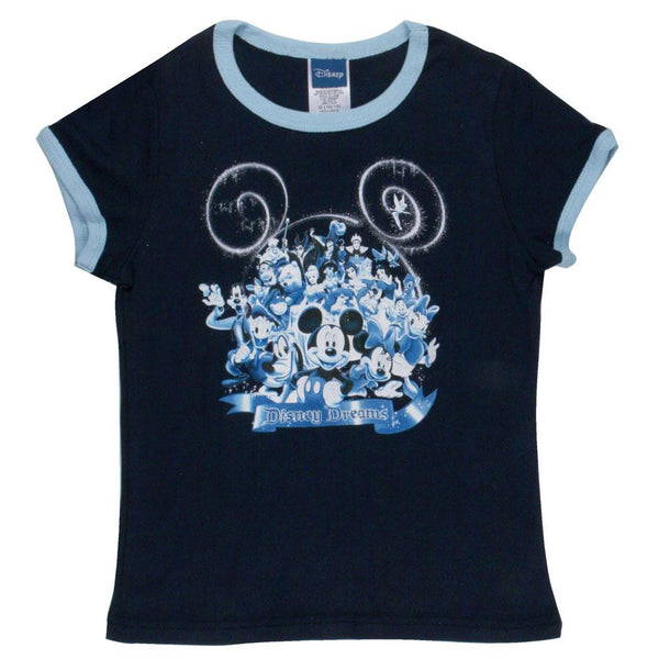 Disney - Dreams Girl's Ringer T-Shirt