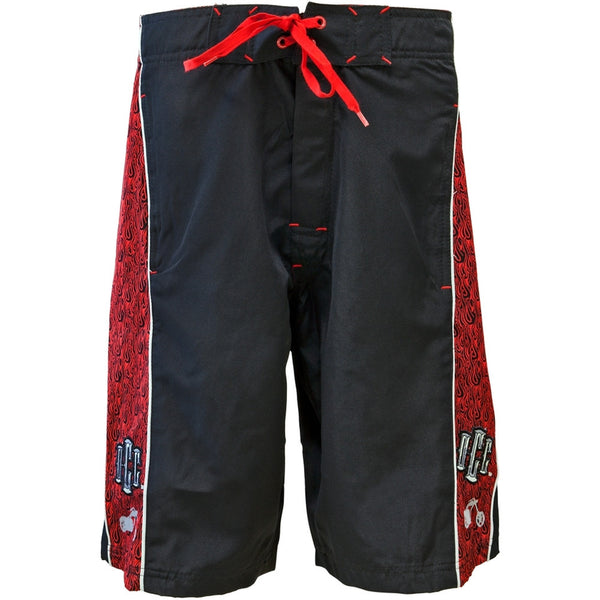 OCC - Red Flames Board Shorts