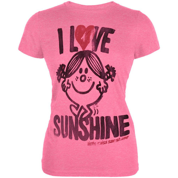 Little Miss - I Love Sunshine Vintage Juniors T-Shirt