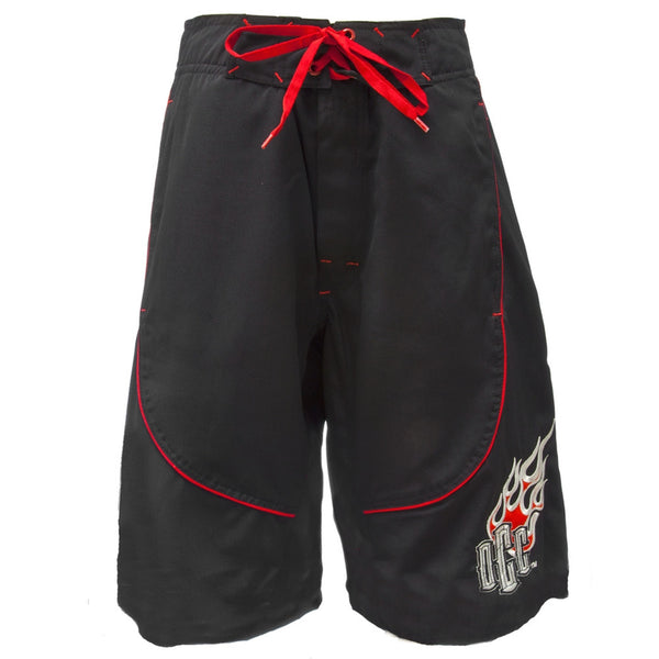 OCC - Red Flame Logo Board Shorts