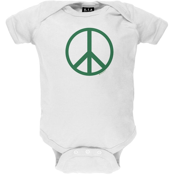 Peace Sign Baby One Piece