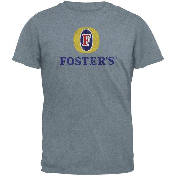 Foster's - Distressed Logo Grey Soft T-Shirt