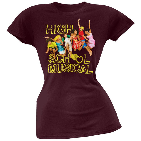 High School Musical - Jump Girl's T-Shirt