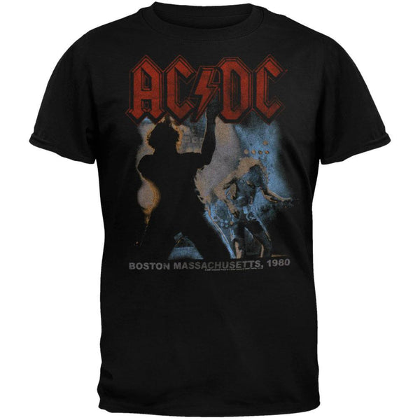 AC/DC - Back In Black Tour Soft T-Shirt