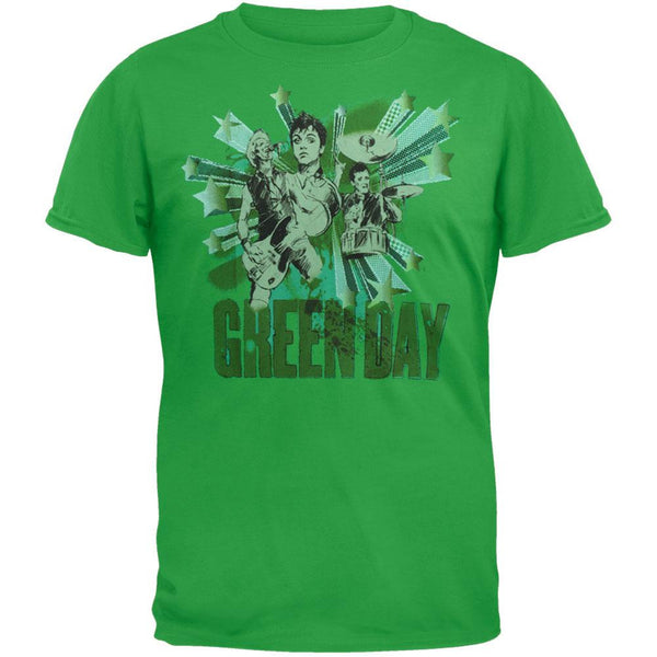 Green Day - Sketch Soft T-Shirt