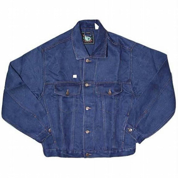 Hemp Denim Jean Jacket - Blue