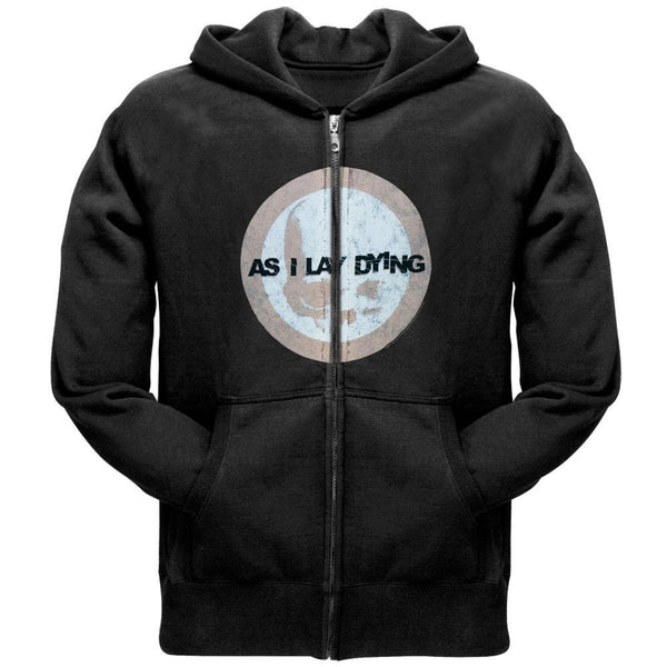 As I Lay Dying - Skull Crest Zip Hoodie
