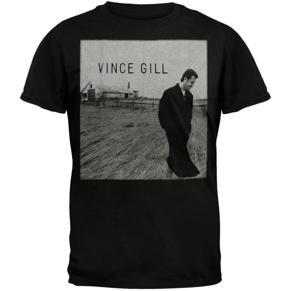 Vince Gill - Long Black Coat T-Shirt